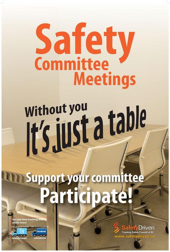 Safety Committee Meetings