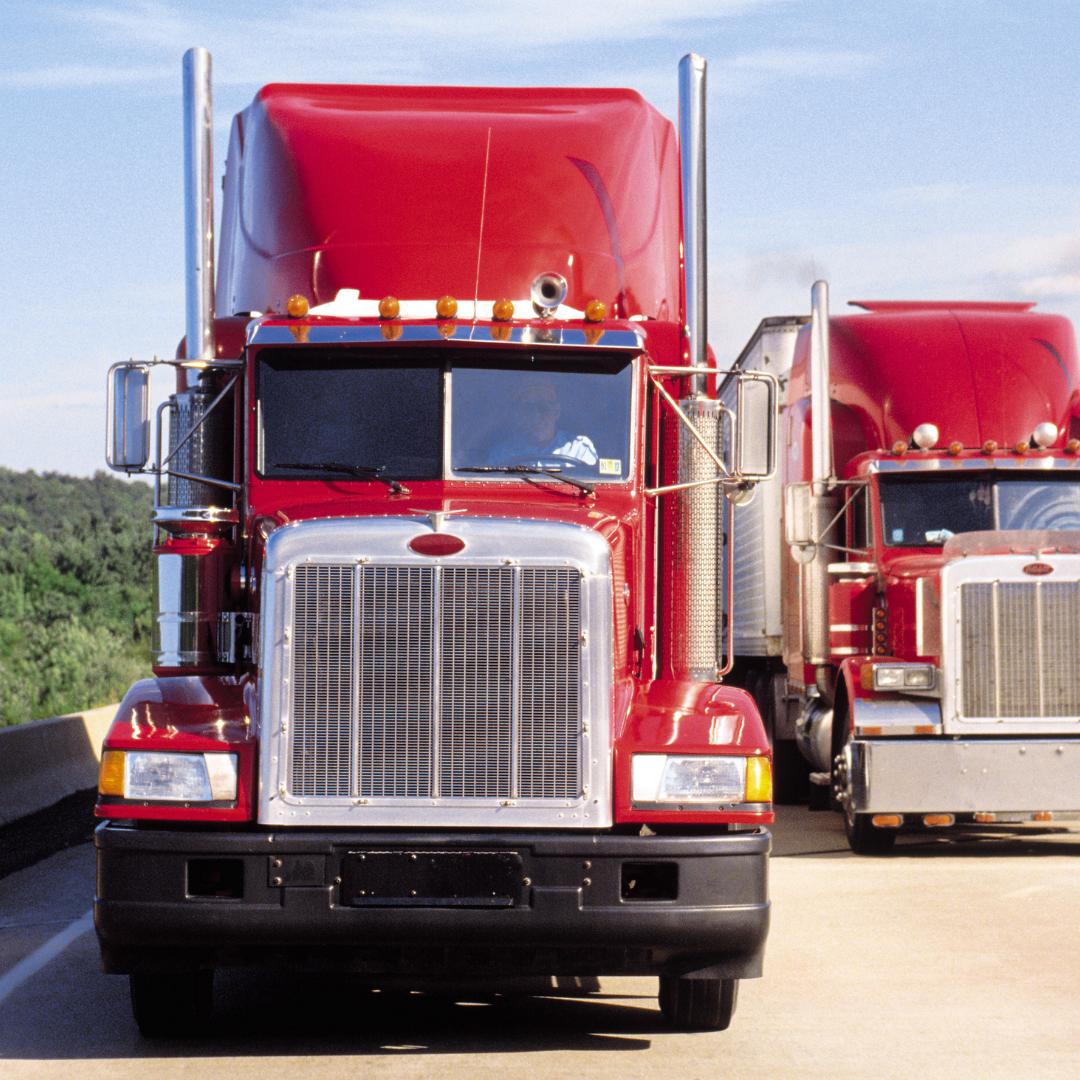 Wheel judgement, red truck