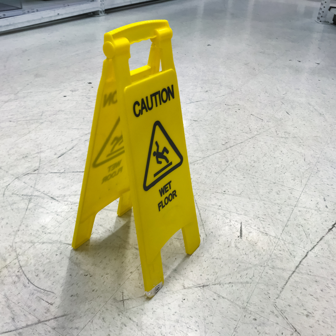 Slips trips and falls