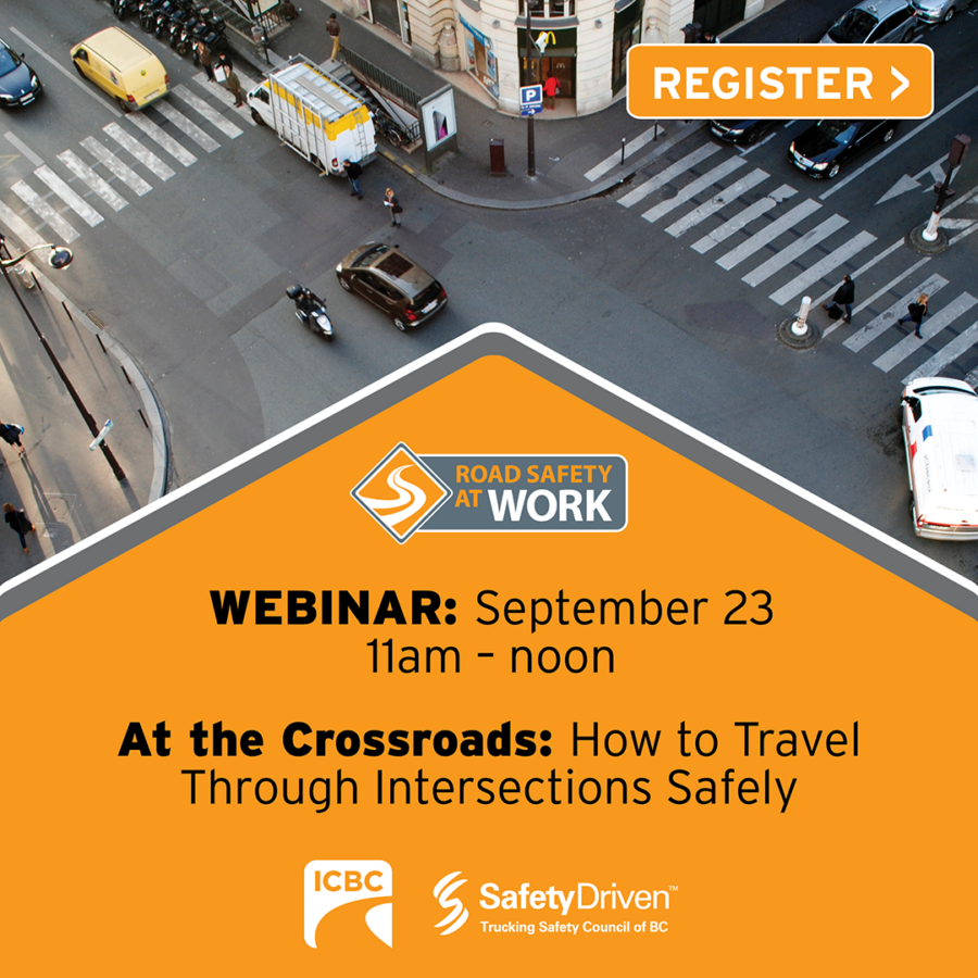 Webinar, intersection safety