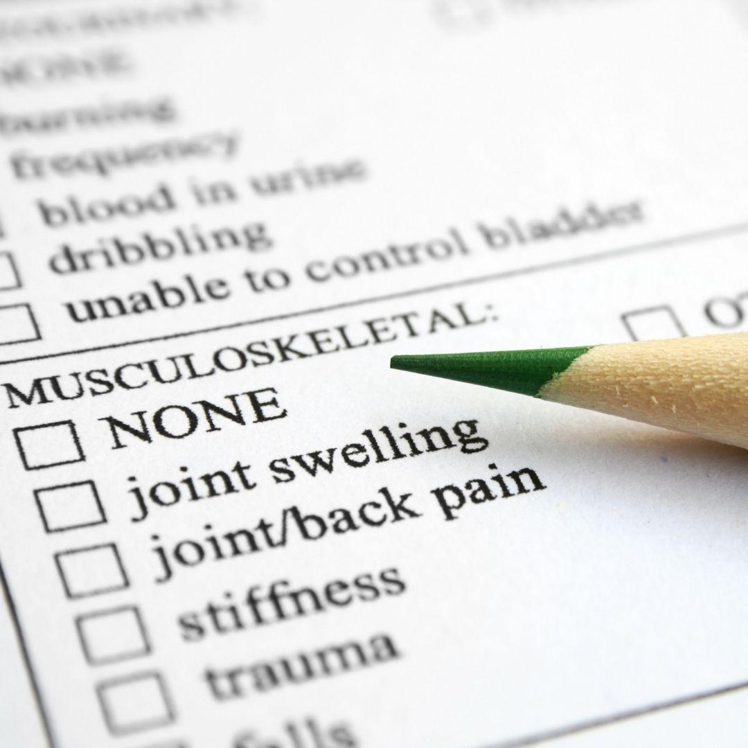 Musculoskeletal injuries